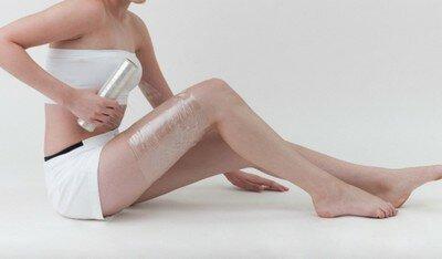 Обертывания от растяжек на ногах