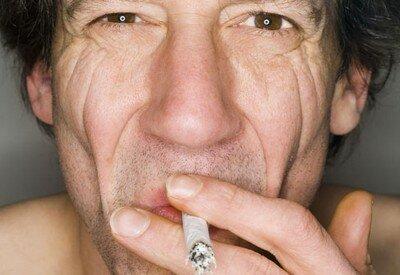 Курение и морщины на лице