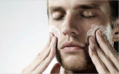 Уход за кожей лица у мужчин