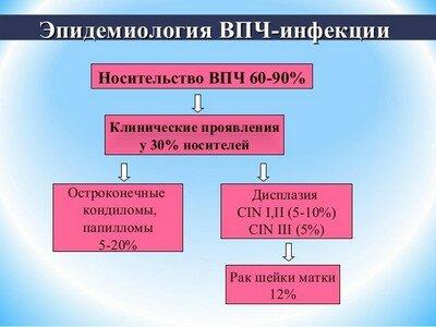 Эпидемиология ВПЧ-инфекции